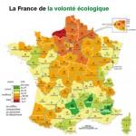 Vie écologique: les trois départements préférés des Français