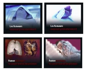 Tabagisme: de nouvelles images choc sur les paquets de cigarettes