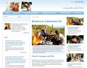 Phénylcétonurie : un site internet pour mieux comprendre