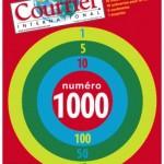 Courrier International : dix scénarios pour le futur pour son 1000ème numéro