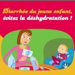 Diarrhée : éviter la déshydratation chez les jeunes enfants