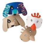 Enfants : des jouets en carton recyclé