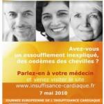 Journée Européenne de l'Insuffisance Cardiaque, le vendredi 7 mai 2010