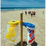 Au bord de la mer, triez vos emballages avec Eco-Emballages et le label Pavillon Bleu !