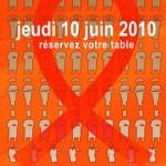 Lutte contre le sida : tous à table chez les « Chefs solidaires » le 10 juin 2010