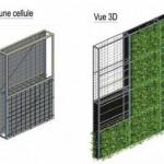 Paris : la SNCF lance le 1er mur végétal dépolluant !