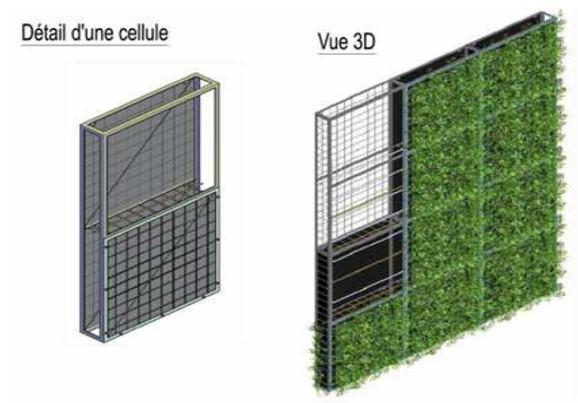 Paris la sncf lance le 1er mur v g tal d polluant for Paroi anti bruit exterieur
