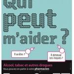 Tabac, alcool, drogues : une campagne d'affichage dans les pharmacies