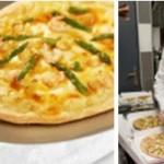 Faîtes-vous livrer une pizza gastronomique créée par le chef étoilé Nicolas Stamm !
