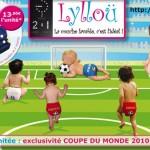 Des couches lavables spéciales… Coupe du monde de foot !