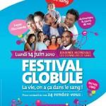 Don du sang : le Festival Globule mobilise enfants et adultes le 14 juin 2010
