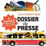 Franco Juniors, les Francofolies des enfants à La Rochelle, du 13 au 17 juillet 2010