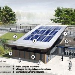 La SNCF dévoile la première « gare solaire » de France