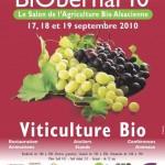 BiObernai 2010 : le salon de l'agriculture bio alsacienne met à l'honneur la viticulture bio