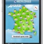 L'application de Météo-France pour votre iPhone