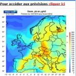 Alerte aux pics d'ozone sur la France