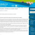 Polyarthrite rhumatoïde : un nouveau blog dédié à la maladie