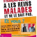 Semaine Nationale du Rein : « 1 français sur 5 a les reins malades et ne le sait pas »