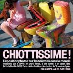 « Chiottissime » : une expo insolite et gratuite sur les toilettes du monde entier !