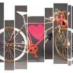 Vente aux enchères de vélos customisés par 12 célèbres créateurs sur la Chaîne du Coeur
