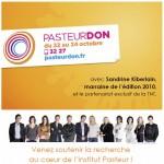 Pasteurdon 2010 : du 22 au 24 octobre, soutenez la recherche !