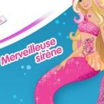 « Barbie et le Secret des Sirènes » en DVD et poupée mannequin