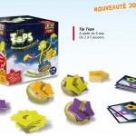Jouet Noël 2010 : le jeu d'adresse tout en bois « Tip Tops » de 5 à 8 ans