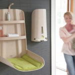 Puériculture «gain de place» : les tables à langer murales pour changer bébé