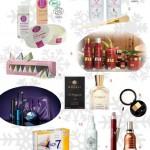 Cadeau Noël 2010 : une sélection de soins du visage et du corps, maquillage, parfums et coffrets