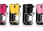 Couleurs en cuisine avec la nouvelle machine à café en capsule ultra-compact de Lavazza