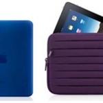 Une housse bleue pour iPad ou un étui prune pour iPhone : c'est le printemps high tech !