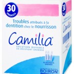 Traitement des poussées dentaires de bébé : Camilia, plus pratique et moins cher