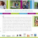 L'étude Elfe va étudier le devenir de 20.000 enfants