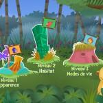 Apprendre les animaux sur iPad : « Apprends avec la Jungle Magique : les animaux ! HD »