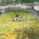 Nature Capitale 2011 : Lyon transformée en prairie
