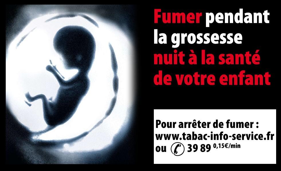 Tabac et fume secondaire: les effets sur la grossesse