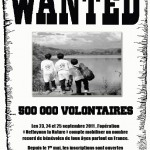 Wanted « 500 000 volontaires pour nettoyer la nature »