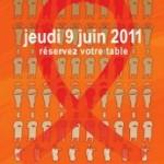 Lutte contre le sida : tous au restaurant chez les « Chefs solidaires » le 9 juin 2011