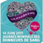 La Journée mondiale des donneurs de sang se déroule le 14 juin prochain