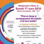 2ème Journée Nationale des Spondylarthrites, le samedi 17 mars à Paris