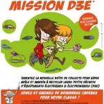 Jeu-concours «Mission D3E» : à vos marques pour apprendre le recyclage aux enfants