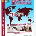 La Journée mondiale de l'hémophilie se déroule le 17 avril