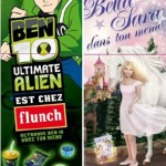 Ben 10 Ultimate Alien et Bella Sara s'invitent chez flunch !