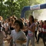 Les collégiens du Havre courent pour Action contre la Faim, soutenus par Vikash Dhorassoo