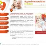 Hypercholestérolémie Familiale: le 1er site internet grand-public spécifiquement dédié