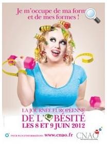 La Journée Européenne de l'Obésité se déroule les 8 et 9 juin 2012