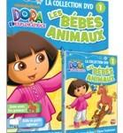 Dora en DVD : collection événement pour explorer, apprendre et jouer