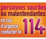 Le 114 : le numéro national d'appel d'urgence pour les sourds ou malentendants