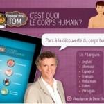 Denis Brogniart aide les enfants à explorer le corps humain