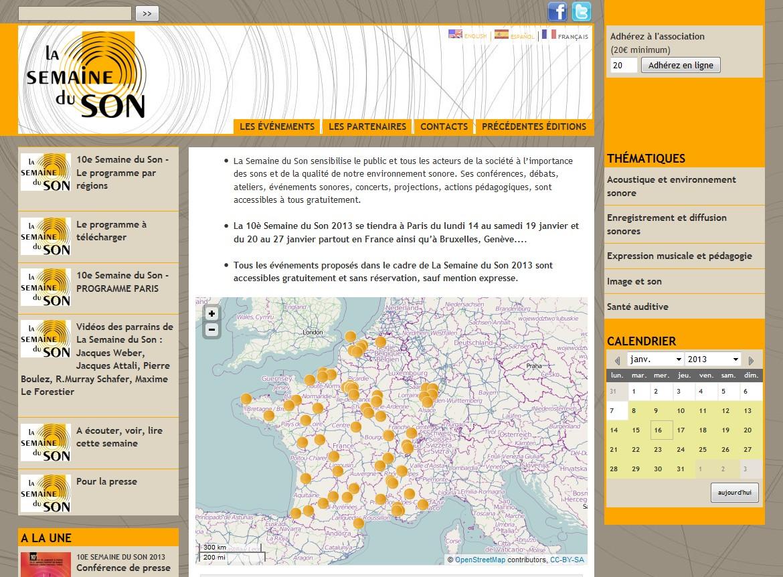 La 10e Semaine du Son 2013 se déroule partout en France